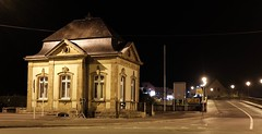 Customs house Echternach, Luxembourg (aniceglassofred) Tags: zoll customshouse x100t nightshot onthegermanborder luxembourg douane echternach