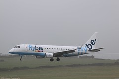 Flybe Embraer E175 G-FBJE at Isle of Man EGNS 09/09/16 (IOM Aviation Photography) Tags: flybe embraer e175 gfbje isle man egns 090916