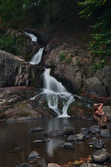 Waterfall (N.Pakenham) Tags: france normandie mortain cascade waterfall waterfalls water nature landscape paysage longexposure expositionlongue