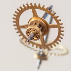 Gear on a Mirror (NedraI) Tags: macromondays reflection gear macro circle mirror inthemirror metal