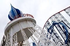 Blackpool Pleasure Beach (itmpa) Tags: blackpool lancashire seaside seasideresort resort blackpoolpleasurebeach pleasurebeach themepark amusementpark bigdipper rollercoaster england archhist itmpa tomparnell canon 6d canon6d