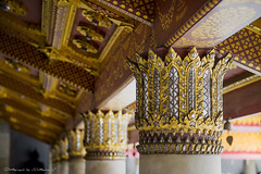 Thai architecture (nattapan.suwansukho) Tags: thai art china yunnan decor touristattractions sculpture travel chinese day landmark traditionalculture worship palace buddhism asia faith artdeco architecture temple painting clearsky religion structure exterior