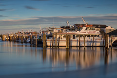 Captree Fleet (Bob90901) Tags: captreefleet boatbasin captreestatepark longisland newyork rpg90901 longexposure summer 2016 september water goldenhour shore waterfront islip leebigstopper neutraldensity lee 09gradnd graduatedneutraldensity filter canon 6d canonef70200mmf28lisiiusm canon70200f28lll outdoor