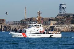 US Coast Guard and Alcatraz (Ian E. Abbott) Tags: unitedstatescoastguard uscoastguard uscg uscoastguardcoastalpatrolboatwpb87365 uscgcoastalpatrolboatwpb87365 coastalpatrolboat87365 wpb87365 87365 marineprotectorclass coastalpatrolboat patrolboat uscoastguardsanfrancisco uscgsanfrancisco goldengate sanfranciscobay patrol rescue uscoastguard87365 uscg87365 uscgpike pike alcatraz
