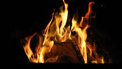 Flames (Cosmicfirestar) Tags: balsam balsamlake ontario ontariocanada canonrebelt3i flames fire bonfire provincialpark firepit canon camping camp campout iseefire burning autumn september fall fallof2016 campfire keepingwarm