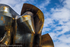 Experience Music Project Museum, Frank Gehry 2000 (www.chriskench.photography) Tags: unitedstates america travel 18135 vacation usa buildings architecture kenchie design fujifilm gehry seattle washington us