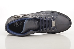 Philipp Plein High-Top Sneaker SM162168 geprgtes Kalbsleder blau (blue) (4) (spera.de) Tags: philipp plein hightop sneaker sm162168 geprgtes kalbsleder blau blue philippplein herrensneakersportschuhe