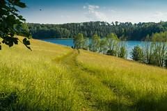 Weidatalsperre  (2) (berndtolksdorf1) Tags: deutschland thringen weidatalsperre wasser wiesen sonnenschein wolken landschaft landscape sun water outdoor