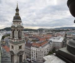 Vista desde San Esteban (Guillermo Relao) Tags: sanesteban basilica budapest pest hungra hungary guillermorelao nikon d90 panormica panorama