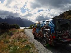 Meet Bruce Lee (boemlau) Tags: newzealand new zealand nieuwzeeland nieuw zeeland 2014 camper van bruce lee brucelee escape rentals ontheroad