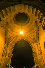 A Light in the Dark (Dan Redding Video) Tags: brighton pavillion palace architecture arch archway church light night canon 6d indian design low building