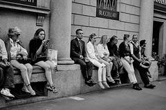 Milan Fashion Week_ Waiting (W38-2016 Milan) (AST - Photos) Tags: street streetphotography milano milan fashion week catwalks