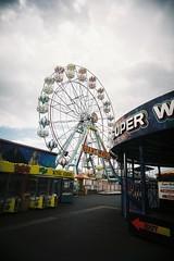 Big Wheel I (bigalid) Tags: film 35mm plastic july 2016 vuws england fujifilm superia xtra400 superheadzwideandslim c41 skegness seaside amusements wheel ferris
