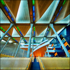 (2357) Bibliotheca Alexandrina (QuimG) Tags: interiors interiores egipte egipto egypt architecture arquitectura olympus quimg quimgranell joaquimgranell afcastell specialtouch obresdart