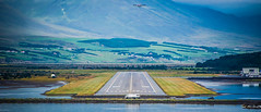 2016 - CPH-NYC Cruise - Iceland, Akureyri International (Ted's photos - For Me & You) Tags: 2016 cphnyccruise cropped nikon nikond750 nikonfx tedmcgrath tedsphotos vignetting akureyri akureyriiceland airport airportrunway aitstrip akureyriinternationalairport akureyriairport vehicles aeroplane plane flying antenna