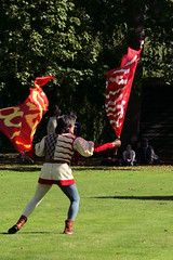 Sbandieratori Gubbio (beery) Tags: sbandieratorigubbio flagthrowing magdalene cambridge italian flagthrowers medieval mediaeval