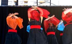 Performing Kaido (Sakuramai Toronto) Tags: japanfestival mississauga japanesefestival japan canada kariya aichi yosakoi dance stage performance costume group pose festival summer             color red people outdoor sunlight girl dancer