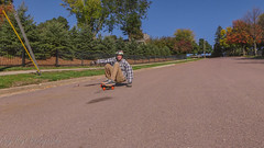 Jacob Croghan fall colors 2 (Codydownhill) Tags: skateboard skateboarding longboard longboarding downhill sports action panasonic lumix style urban