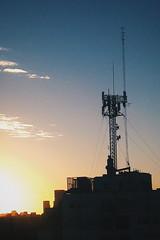 (ttiinnggoo) Tags: buenosaires sunset architecture antenna antennas tower htc htconex onex sky outdoor skyline