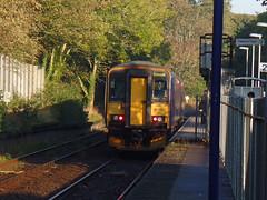 153377 & 153368 Penryn (4) (Marky7890) Tags: gwr 153368 class153 supersprinter 2t69 penryn railway station cornwall train 153377 maritimeline