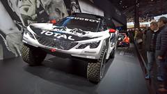 Peugeot 3008 DKR 05 (benoit.patelout) Tags: mondial automobile paris 2016 peugeot 3008 dkr