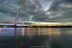 (szintzhen) Tags:             bridge cloud sky light reflection river taipeicity taiwan