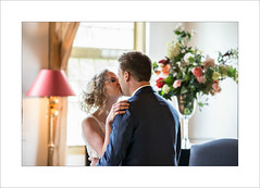 for the very first time... (Zino2009 (bob van den berg)) Tags: wedding kiss moment denalerdinck holland zwolle pair couple two man woman love loving honeymoon ido inlove lovely inside zino2009 bobvandenberg