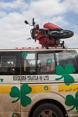 Transporting the Motorbike - 13th May 2016 (princetontiger) Tags: kenya nairobi motobike load burden luggage