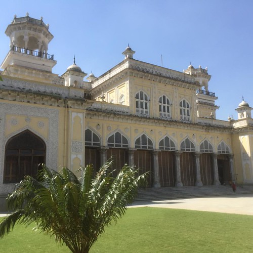 Morning stroll at #chowmahallapalace #hyderabad