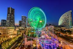 Twilight in yokohama (Takuya_Igarashi) Tags: nightview nightphotography nightshot nightimage nightscape landscape