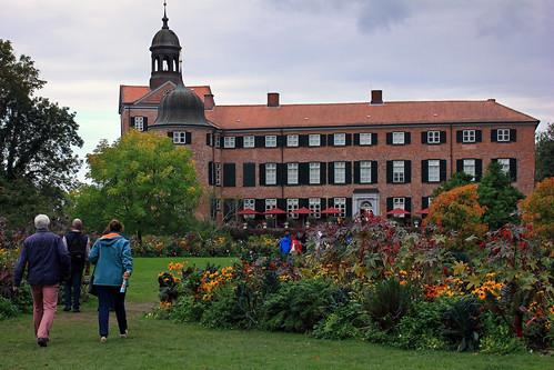 Schlossgarten Eutin (72) Nordgarten und Gartenfassade