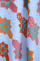 Introducing Baker Street! (Sassafras Lane Designs) Tags: baker street sassafras lane designs orange pink modern quilt pattern patchwork quilting block