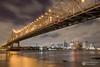 New Orleans (Dan Sherman) Tags: city bridge night buildings river lights louisiana downtown nightlights neworleans citylights mississippiriver nola neworleansskyline downtownneworleans