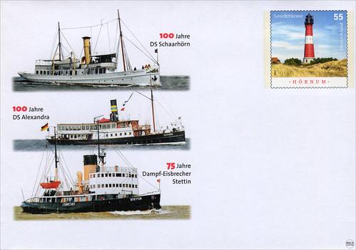 DS Schaarhörn DS Alexandra Dampf-Eisbrecher Stettin