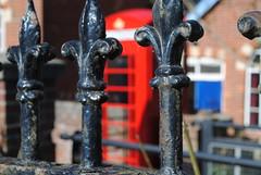 Edenbridge Red Telephone Box Restoration Day 4, 01/05/2013 (Rob redphonebox.info) Tags: red booth kent call phone box telephone restoration british kiosk bt k6 telecom edenbridge