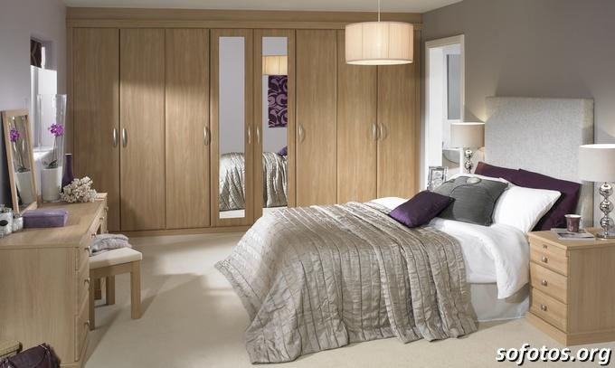 Quarto De Casal Simples E Decorado ~ Fotos de quartos de casal planejados e decorados