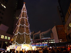 Shin Umeda City Christmas 2010  (MRSY) Tags: xmas tree japan illumination  osaka
