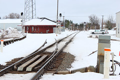 Green light route (view2share) Tags: railroad trees snow cold station cn train spring track transport snowstorm may tracks rail railway rr trains junction signals transportation rails depot snowfall signal freight railroaders springtime ladysmith railroads canadiannational freighttrain railroading indication jct freightcar 2013 trackage bradleysub may2013 barronsub superiorsub may42013
