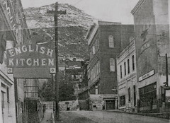 then and now - Jerome, AZ  - English Kitchen  Z1 (redrock flyer) Tags: oldbuildings jerome thenandnow jeromeaz englishkitchen seriesz1