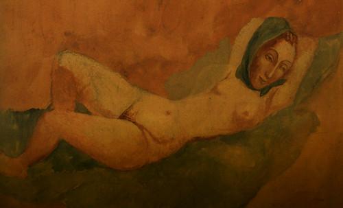 "Majas, homenajes de Francisco de Goya y Lucientes (1802), Eugéne Delacroix (1826), Amadeo Modigliani (1916), Pablo Picasso (1906), (1931), (1959), (1964). • <a style=""font-size:0.8em;"" href=""http://www.flickr.com/photos/30735181@N00/8747974140/"" target=""_blank"">View on Flickr</a>"