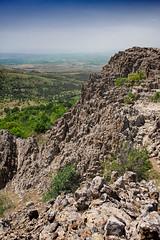Kokino (stariot) Tags: blue sky mountain rock landscape rocks macedonia archeology kokino