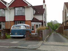 2105201310778 (uk_senator) Tags: blue white window vw bay 1971 camper 2tone uksenator