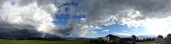 Irschenberg Panorama (f-v-m) Tags: panorama himmel wolken alpen irschenberg uploaded:by=flickrmobile flickriosapp:filter=nofilter