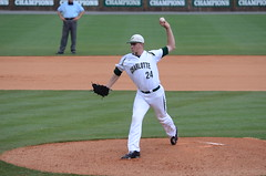 Baseball vs Richmond (A10 Tournament), 5/22/2013, Chris Crews, DSC_2620 (NinerOnline) Tags: university baseball spiders 49ers richmond tournament unc a10 uncc charlote ninermedia