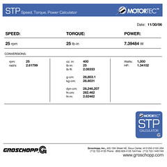 Groschopp Motortec Data Sheet 2 (Groschopp USA) Tags: speed power gear calculator data sheet motor torque electricmotor datasheet gearmotor motortec groschopp stpcalculator