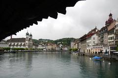 City view (davidvankeulen) Tags: schweiz europe suisse luzern helvetia svizzera kapellbrcke zwitserland davidvankeulen davidcvankeulen urbandc davidvankeulennl