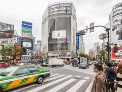 Shibuya,Tokyo, Japan (wabisabiph) Tags: city people cars japan buildings tokyo asia cross traffic shibuya citylife crowdy pedestriancrosswalk