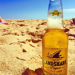 Landshark (mnflanagphoto) Tags: landshark beer beach refreshing outdoors outside delicious