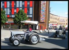 Grey Ferguson tractors Coventry parade (nexapt101) Tags: tractor ferguson coventry 70 parade grey