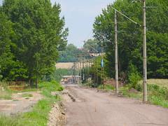 Kapospula Dombvr fel (Arnold Laszlo) Tags: vast vonat mv vastpts train track